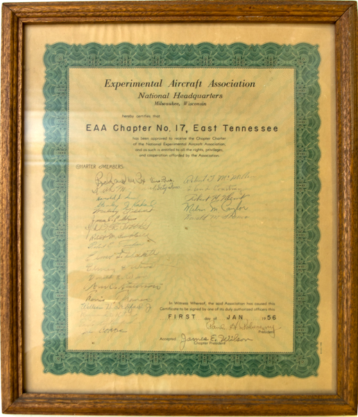 Chapter 17 Certificate
